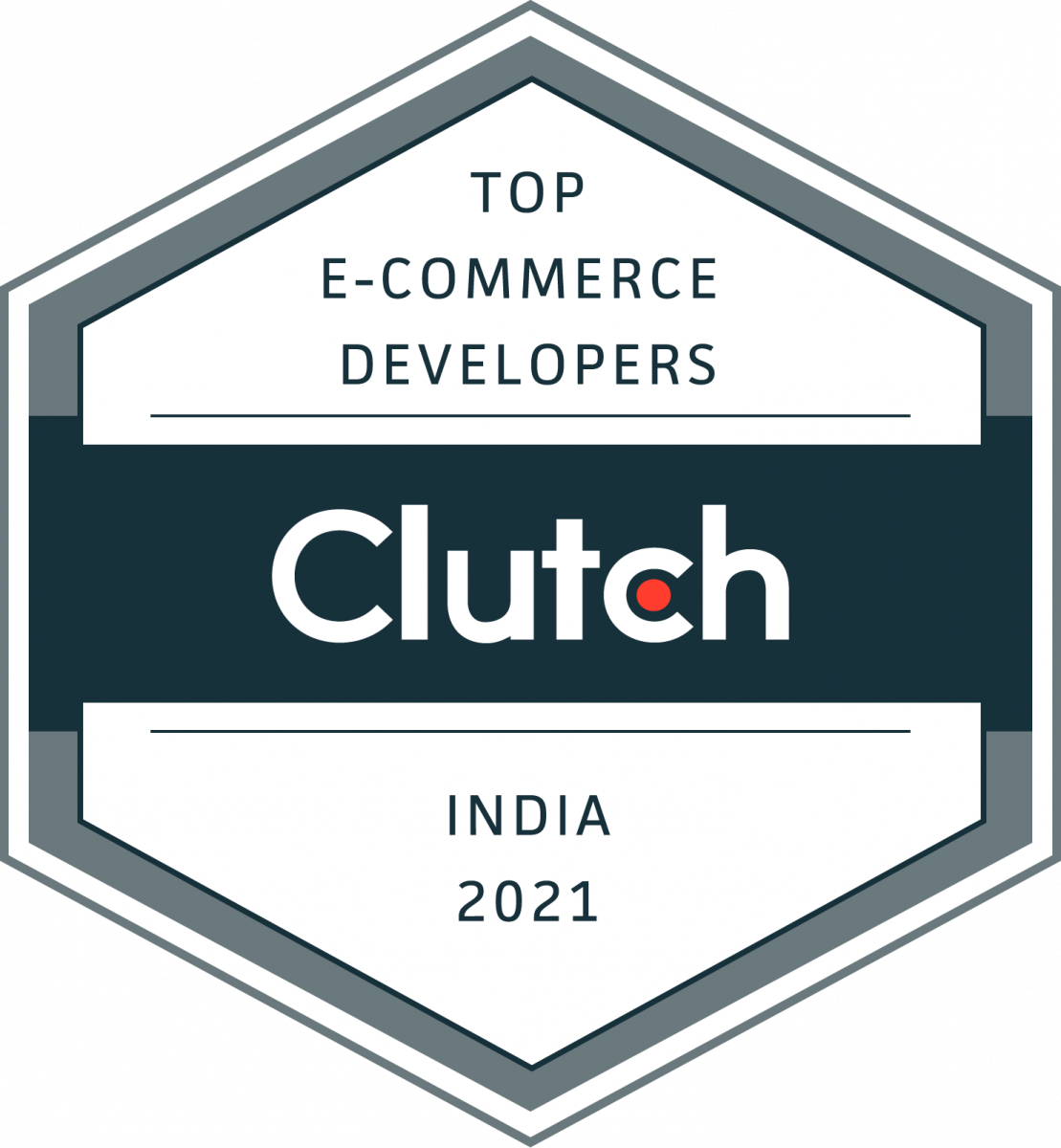 Awarded Top e-Commerce developer by Clutch