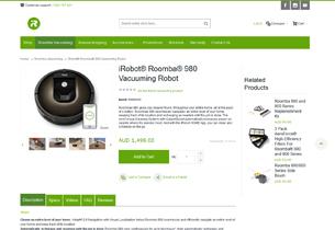 Magento store for iRobot