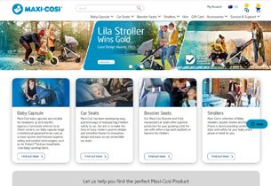 Magento Ecommerce store for Maxi Cosi
