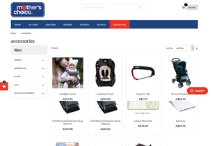 Mother's Choice – Magento Store