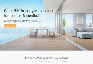 WordPress development Palm Property Management