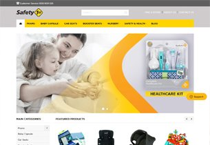 Magento Ecommerce store for Safety1st